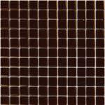 1″x1″ Glass Brown