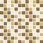 """1""""x1"""" Pear Jewel Mosaic"""