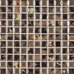 1″x1″ Black Swan Roman Mosaic