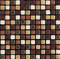 "1""x1"" Autumn  Roman Mosaic"