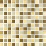 1″x1″ Amber Milano Mosaic