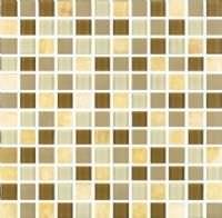 "1""x1"" Amber Milano Mosaic"