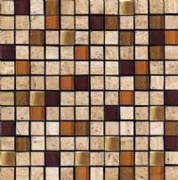 "1""x1"" Maple Milano Mosaic"