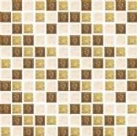"""1""""X1"""" Perseus Gold Jewel Mosaic"""