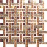 Grid Red Venice Mosaic